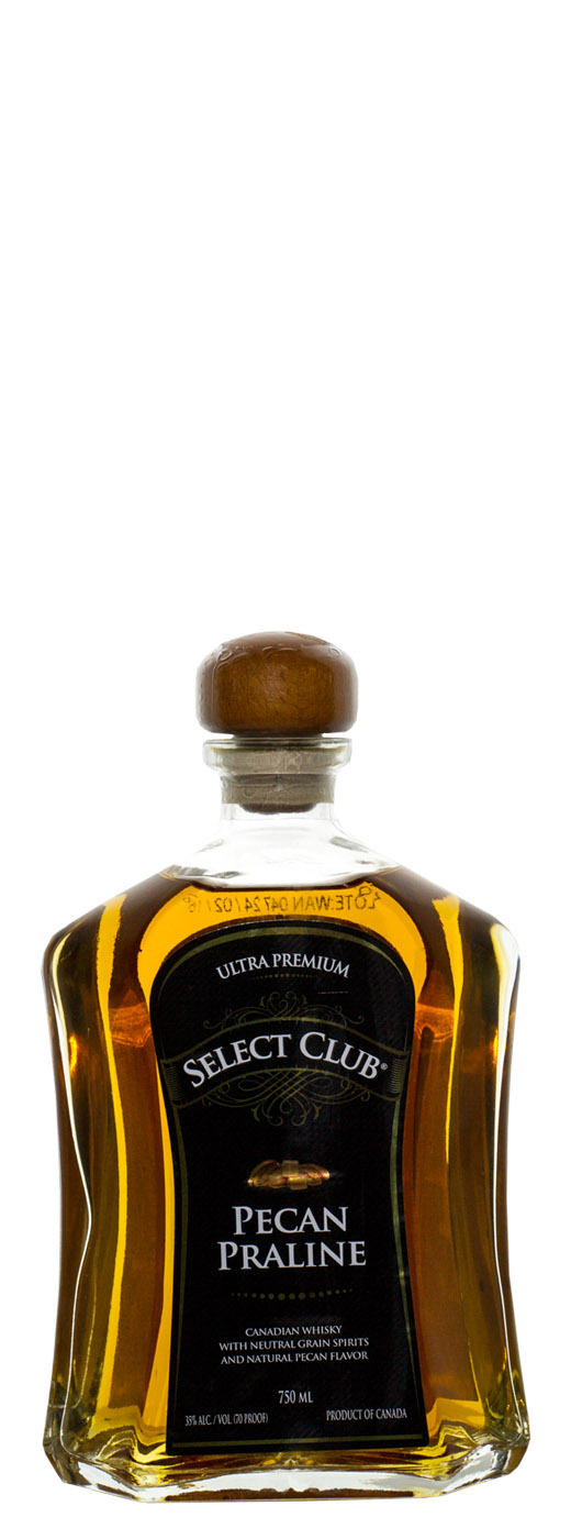 Select Club Pecan Praline Ultra Premium Canadian Whisky