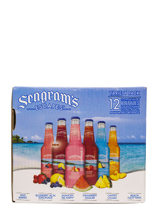 Seagram's Escapes Variety Pack 12pk