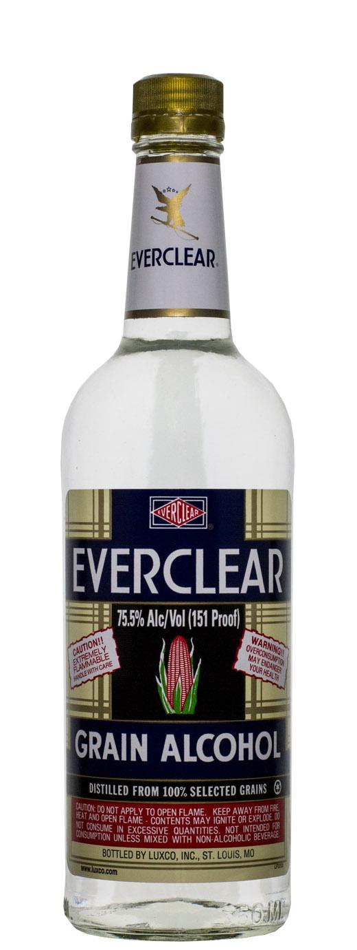 Everclear Grain Alcohol 151°