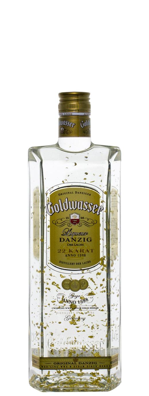 Der Lachs Danziger Goldwasser Liqueur