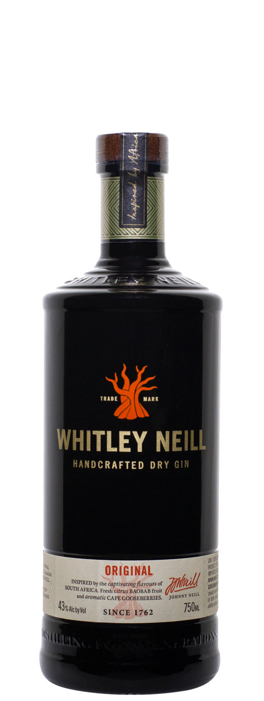 Whitley Neill Dry Gin Small Batch 86°