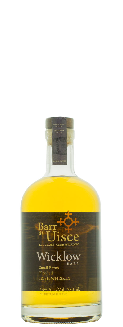 Barr an Uisce Wicklow Rare Small Batch Irish Whiskey