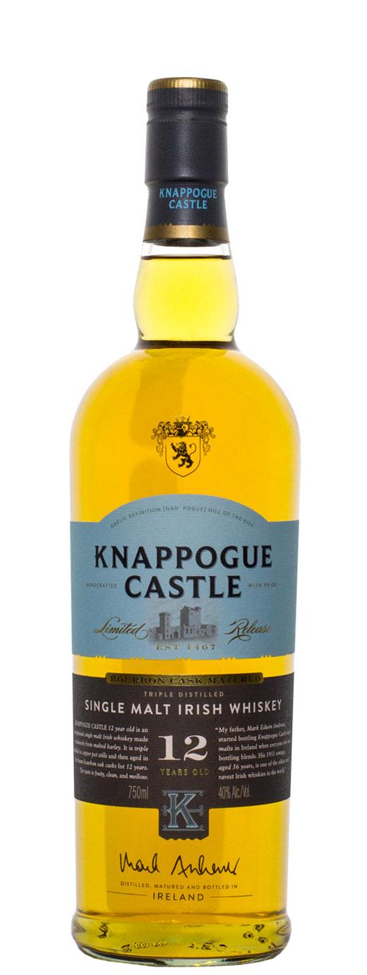 Knappogue Castle 12yr Bourbon Oak Cask Single Malt Irish Whiskey