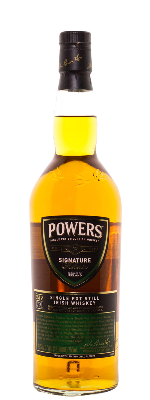 Powers Signature Release Irish Whiskey