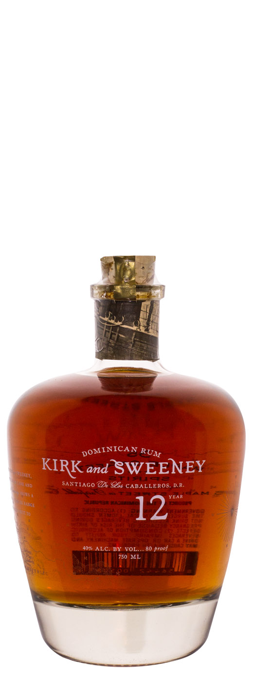 Kirk and Sweeney 12yr Dominican Rum