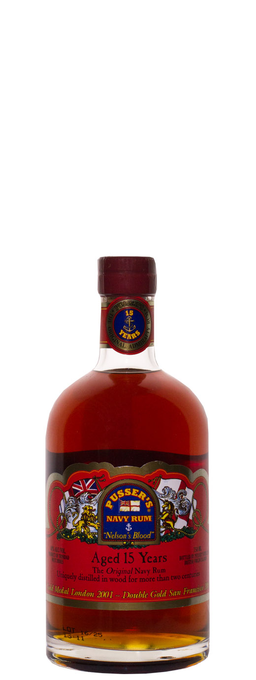 Pusser's Nelson's Blood 15yr Navy Rum