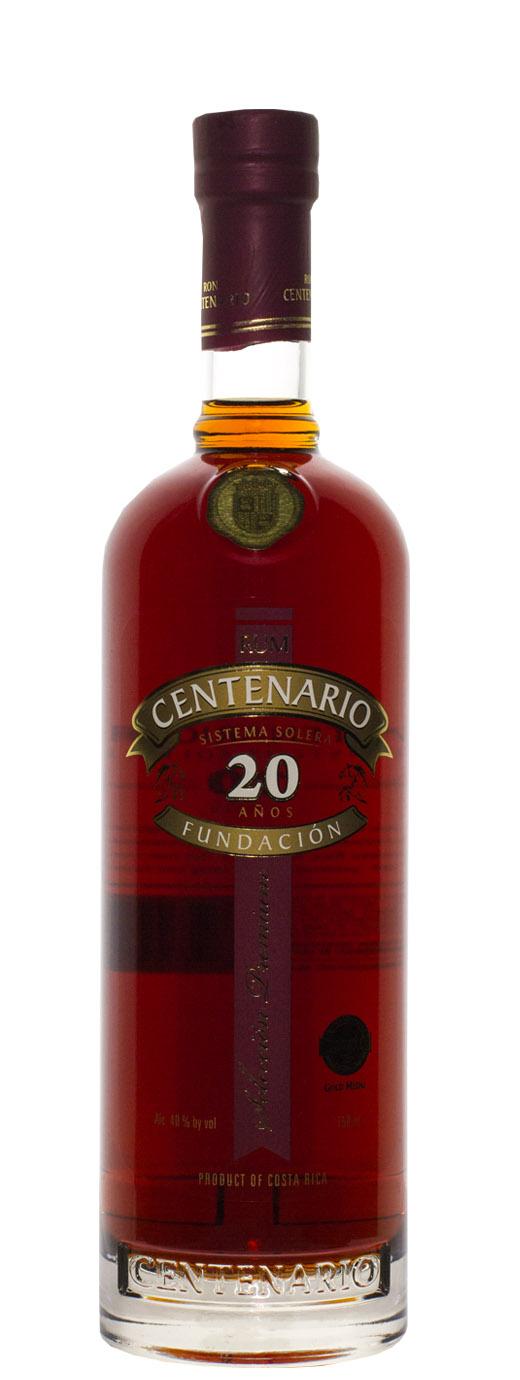 Ron Centenario 20yr Fundacion XX Anos Rum