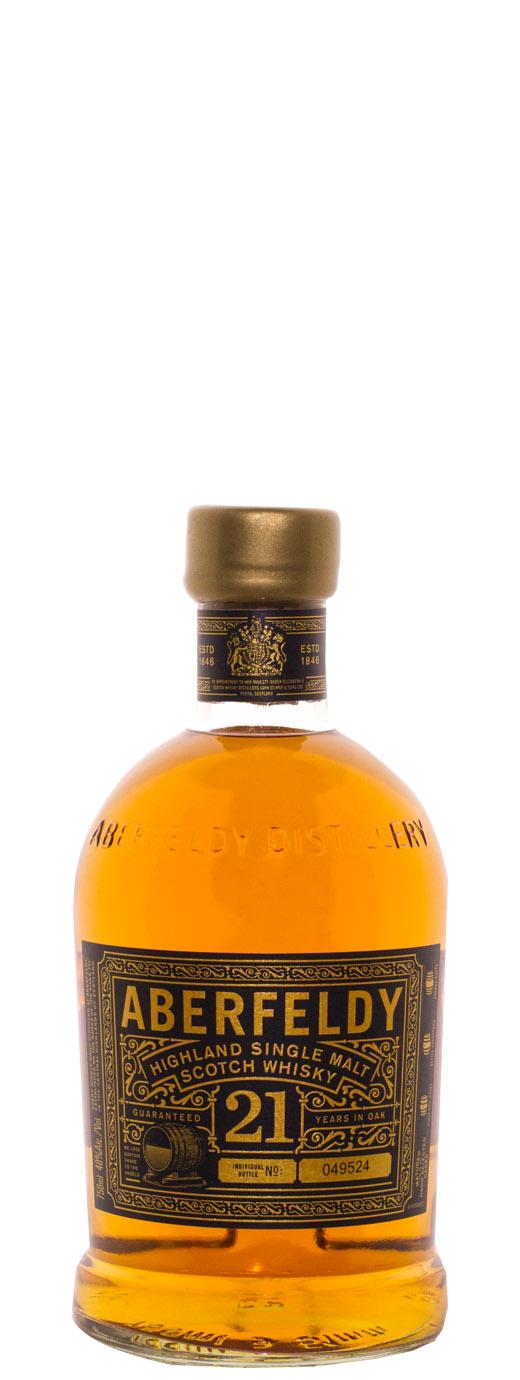 Aberfeldy 21yr Single Malt Scotch