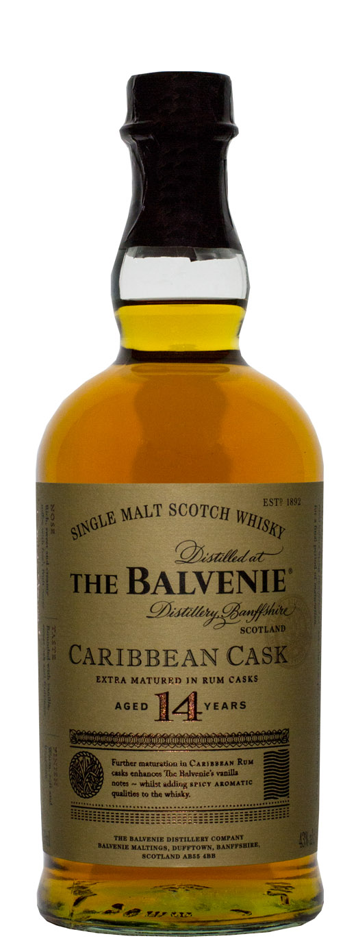 Balvenie Caribbean Cask 14yr Single Malt Scotch