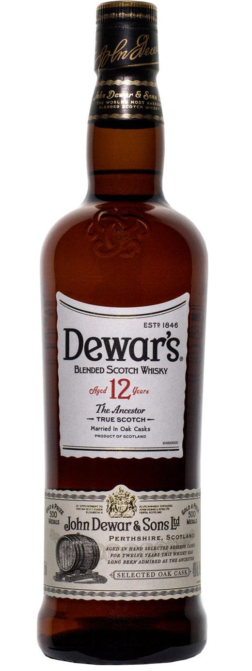 Dewar's Ancestor 12yr Blended Scotch