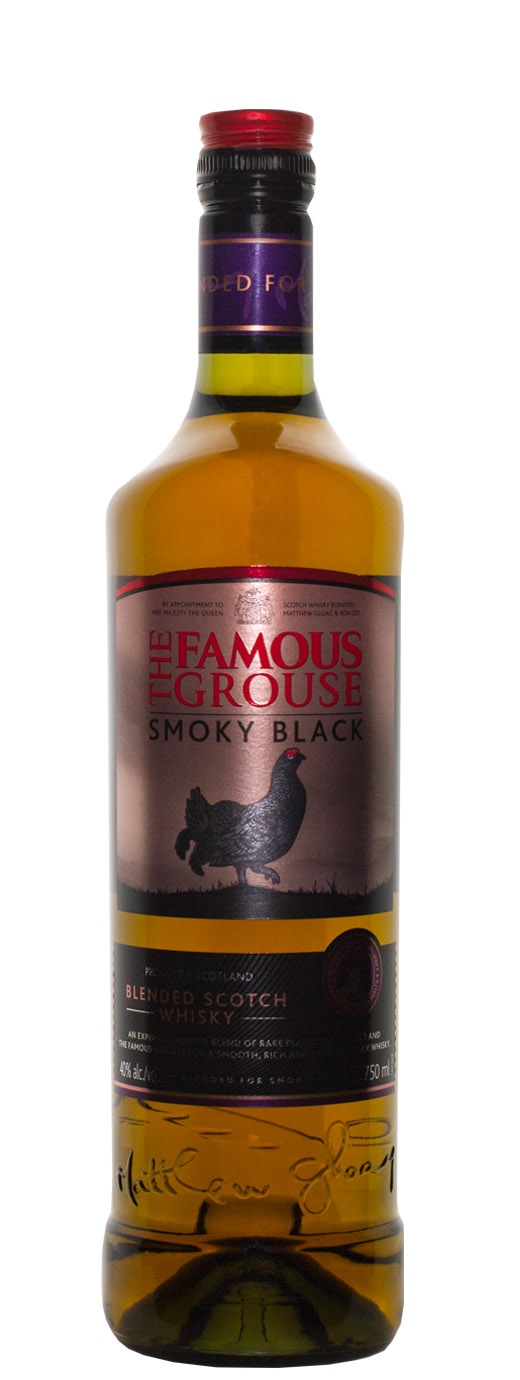 The Famous Grouse Smoky Black Blended Scotch