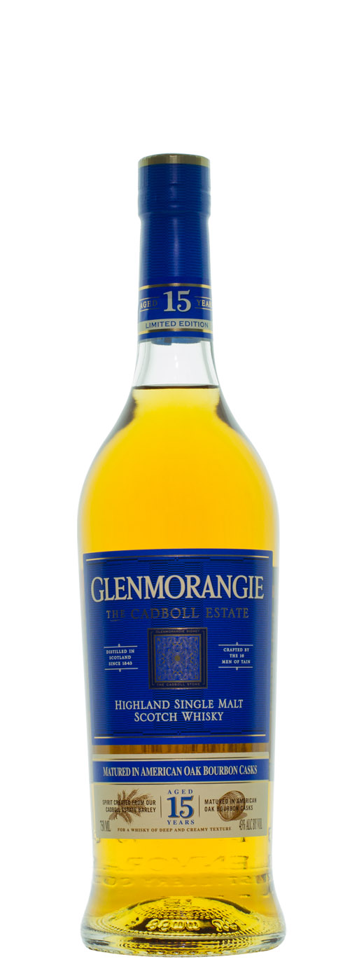 Glenmorangie 15yr The Cadboll Estate Single Malt Scotch