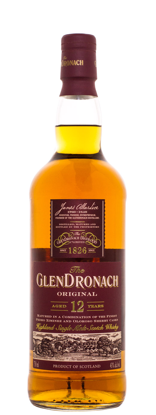 The GlenDronach 12yr Single Malt Scotch
