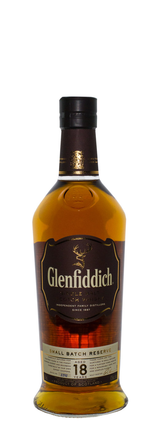 Glenfiddich Ancient Reserve 18yr Single Malt Scotch