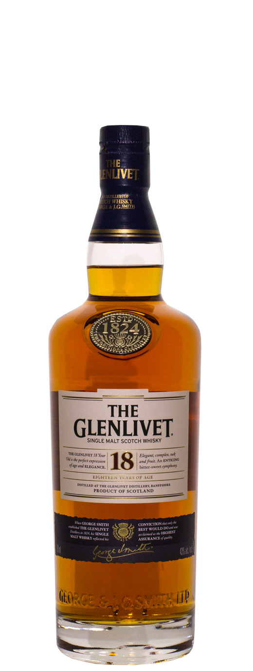 The Glenlivet 18yr Single Malt Scotch
