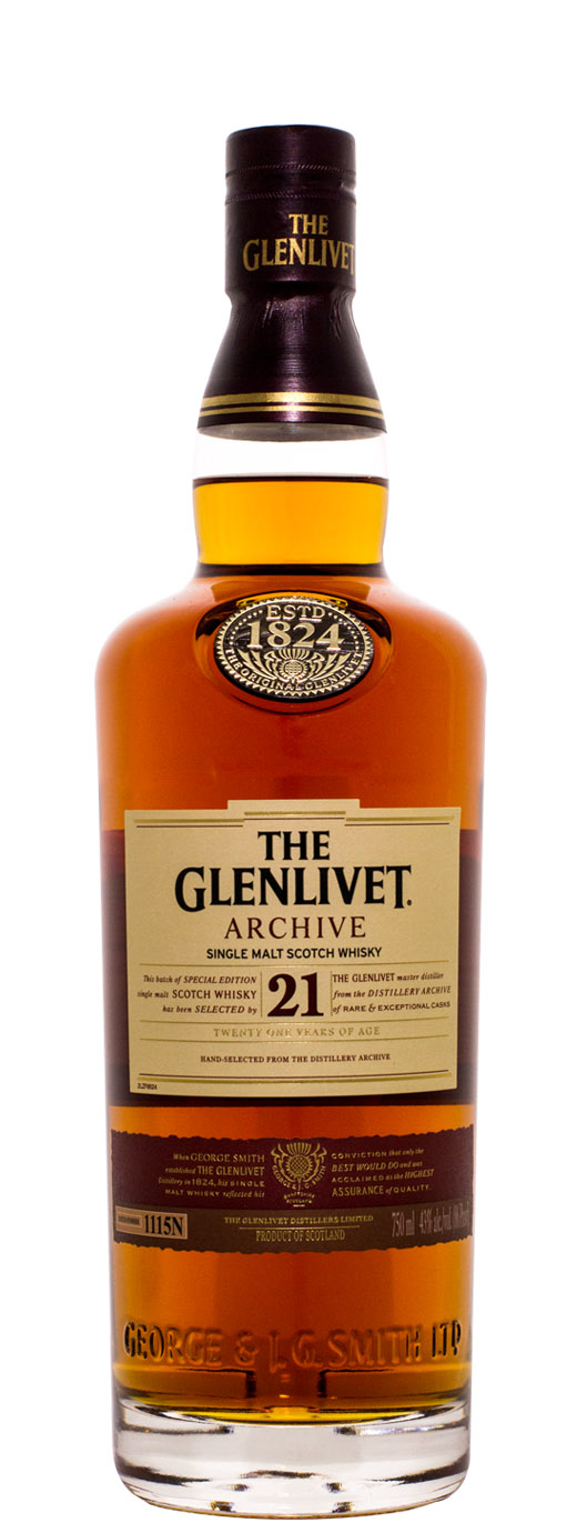 The Glenlivet Archive 21yr Single Malt Scotch