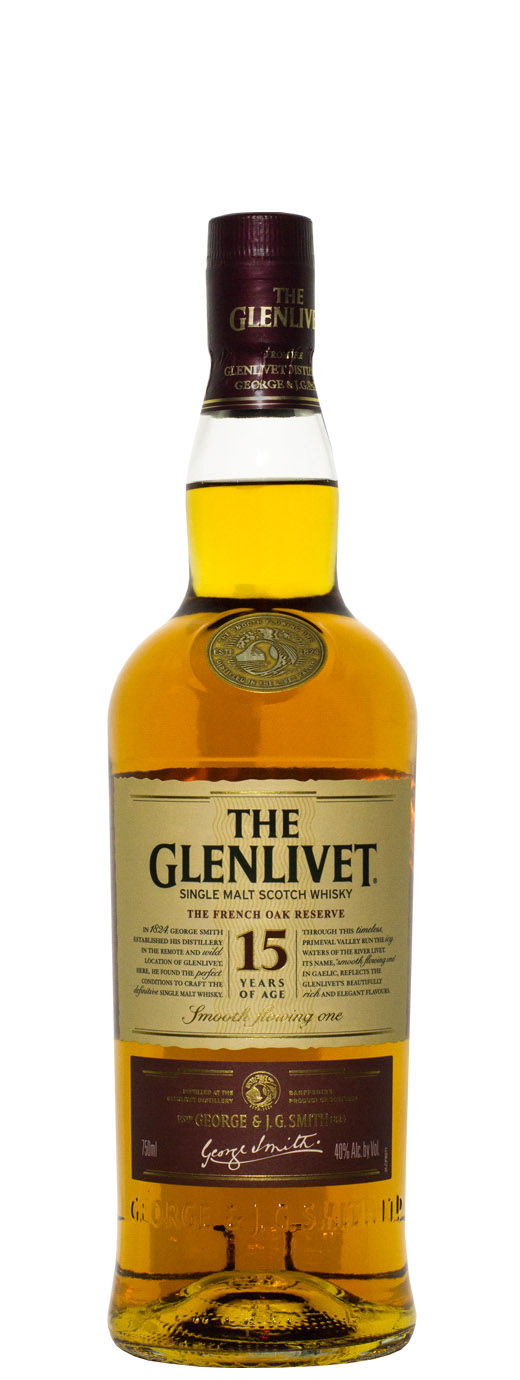 The Glenlivet French Oak 15yr Single Malt Scotch