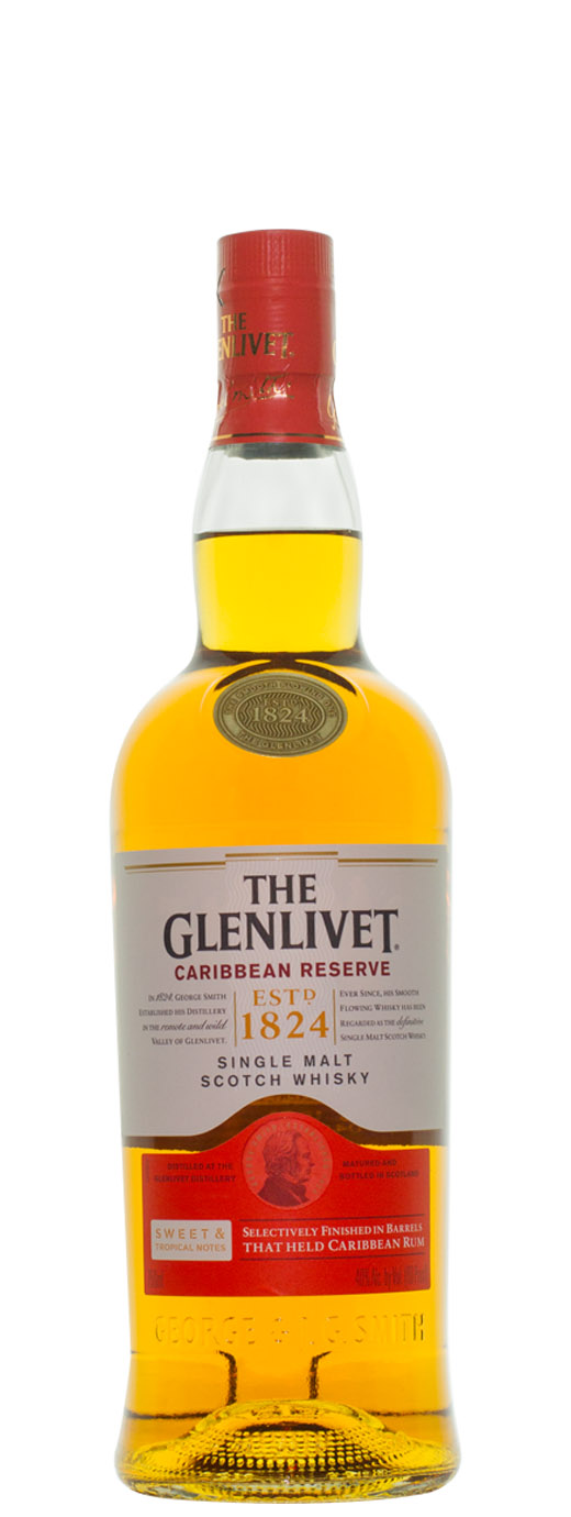 The Glenlivet Caribbean Reserve Single Malt Scotch