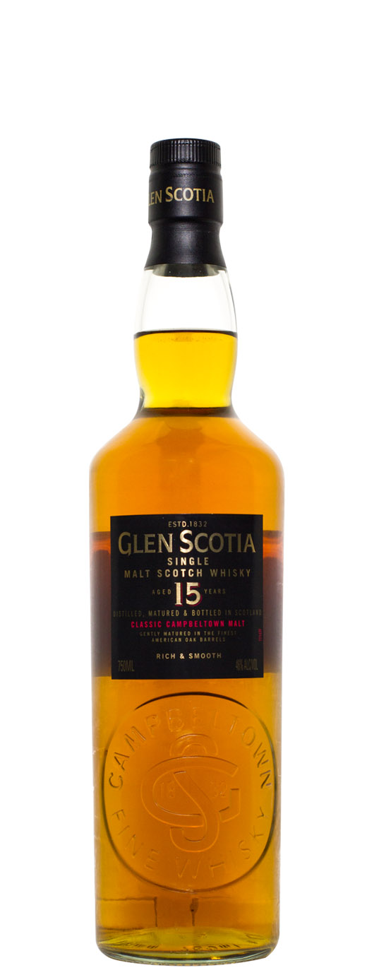 Glen Scotia 15yr Single Malt Scotch Whisky