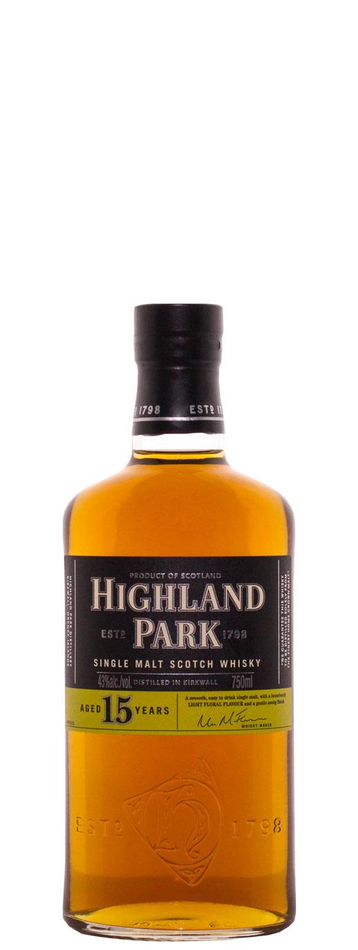 Highland Park 15yr Single Malt Scotch