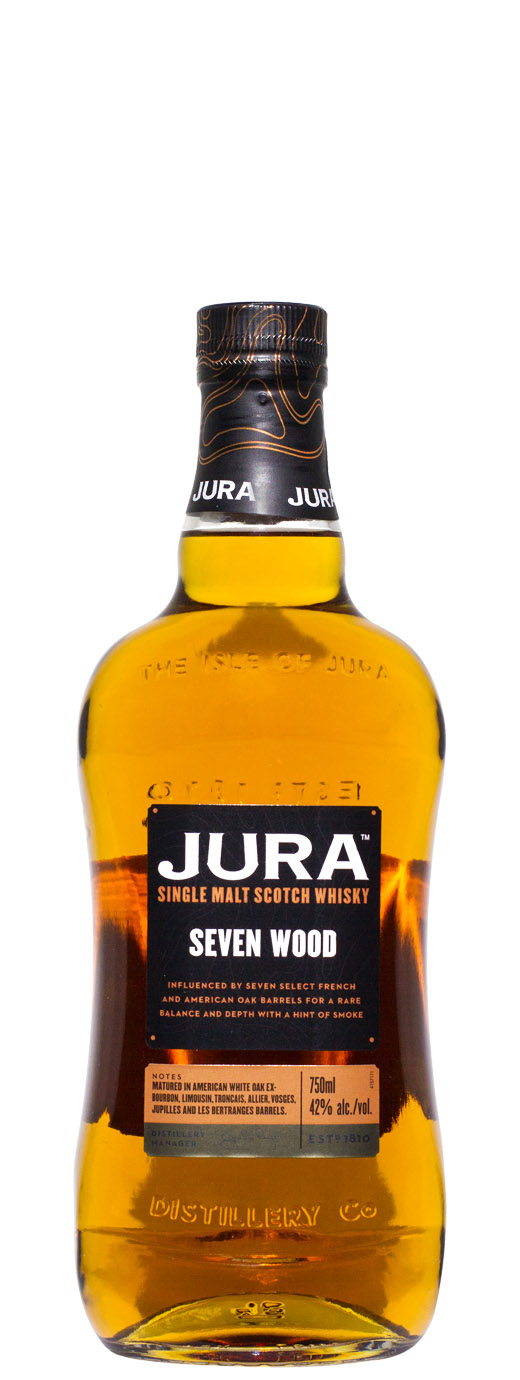 Isle Of Jura Seven Wood Single Malt Scotch