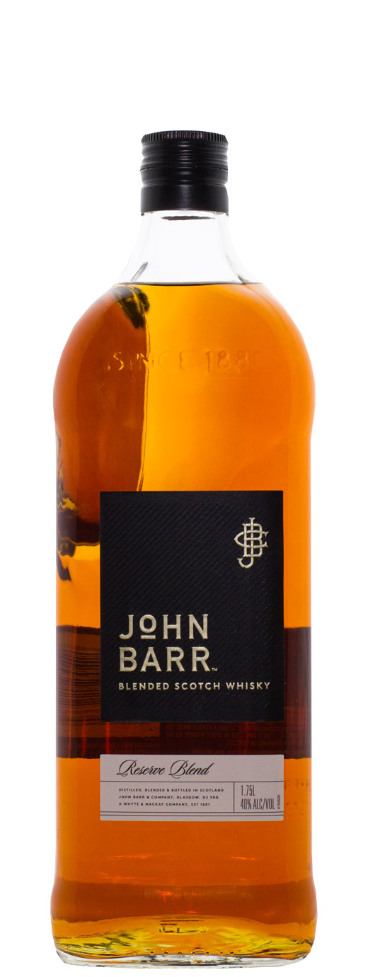 John Barr Black Label Blended Scotch