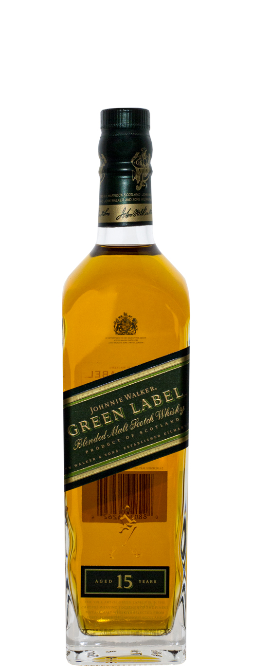 Johnnie Walker Green Label 15yr Blended Malt Scotch