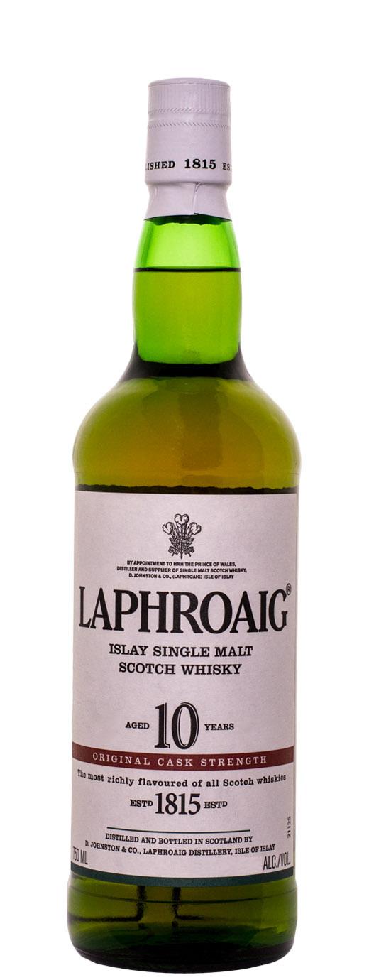Laphroaig 10yr Cask Strength Single Malt Scotch