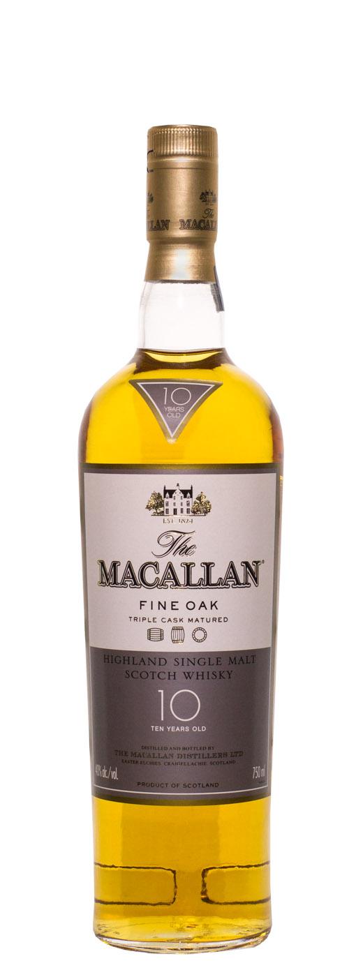 The Macallan 10yr Fine Oak Single Malt Scotch