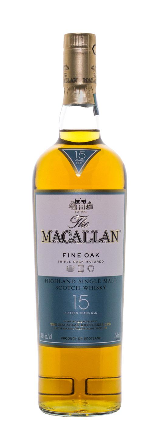 The Macallan 15yr Fine Oak Single Malt Scotch