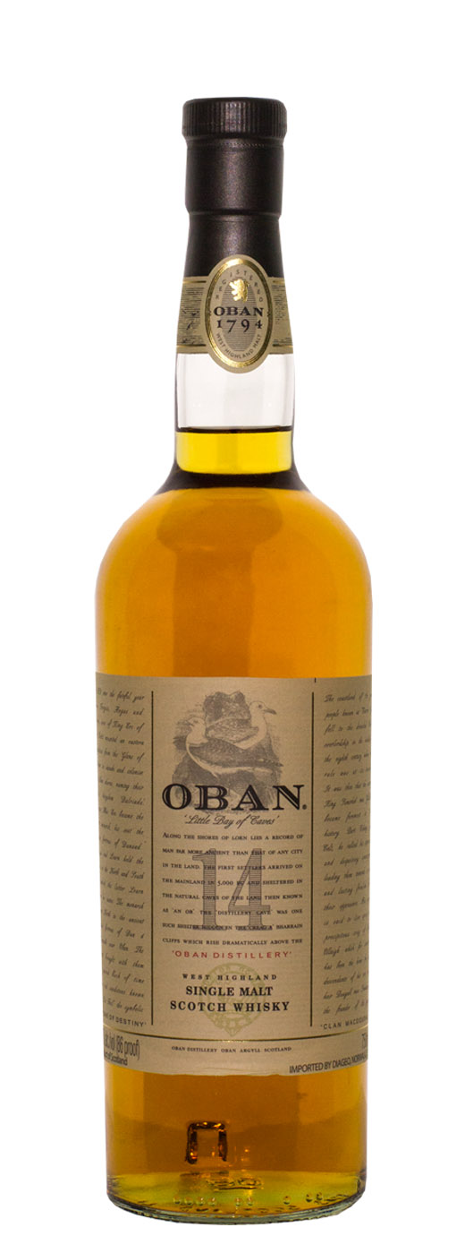 Oban 14yr Single Malt Scotch
