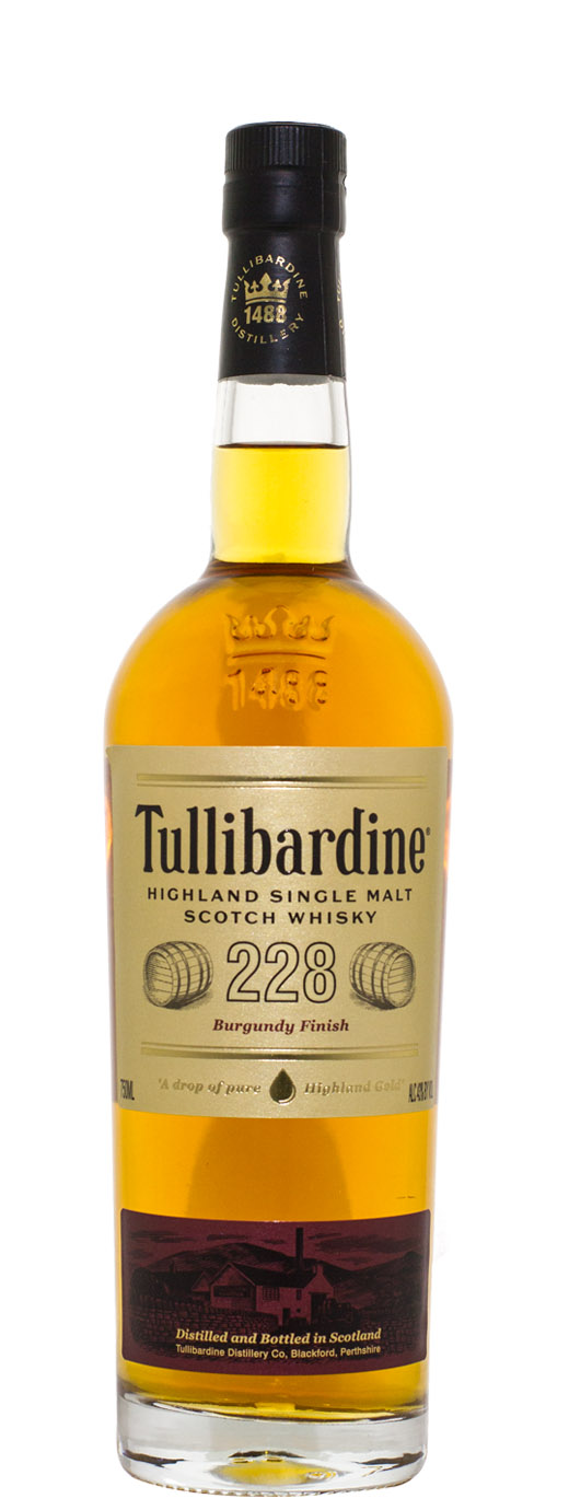 Tullibardine 228 Burgundy Finish Single Malt Scotch