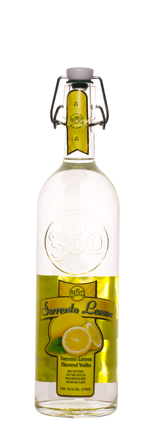 Sorrento Lemon 360 Vodka