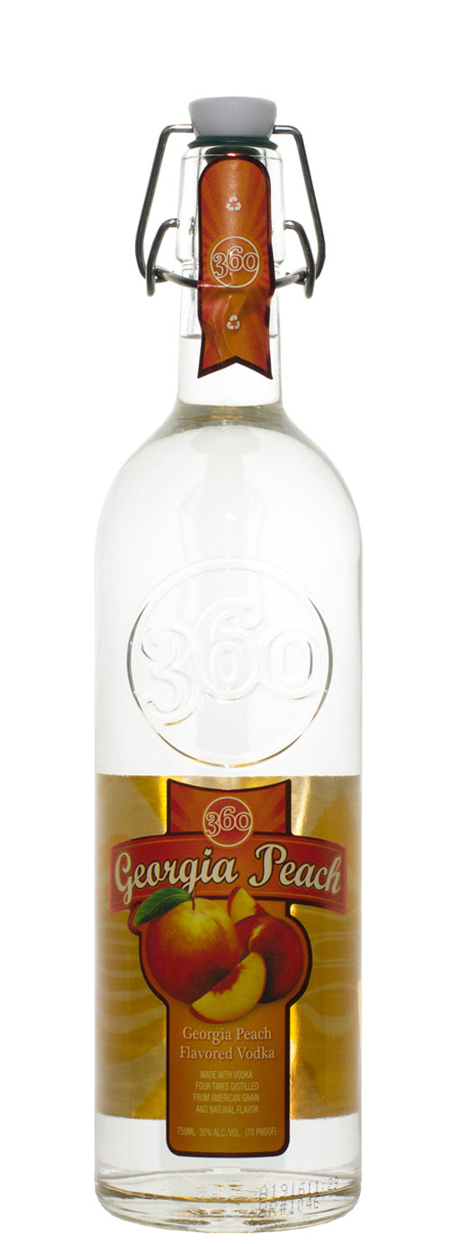 Georgia Peach 360 Vodka