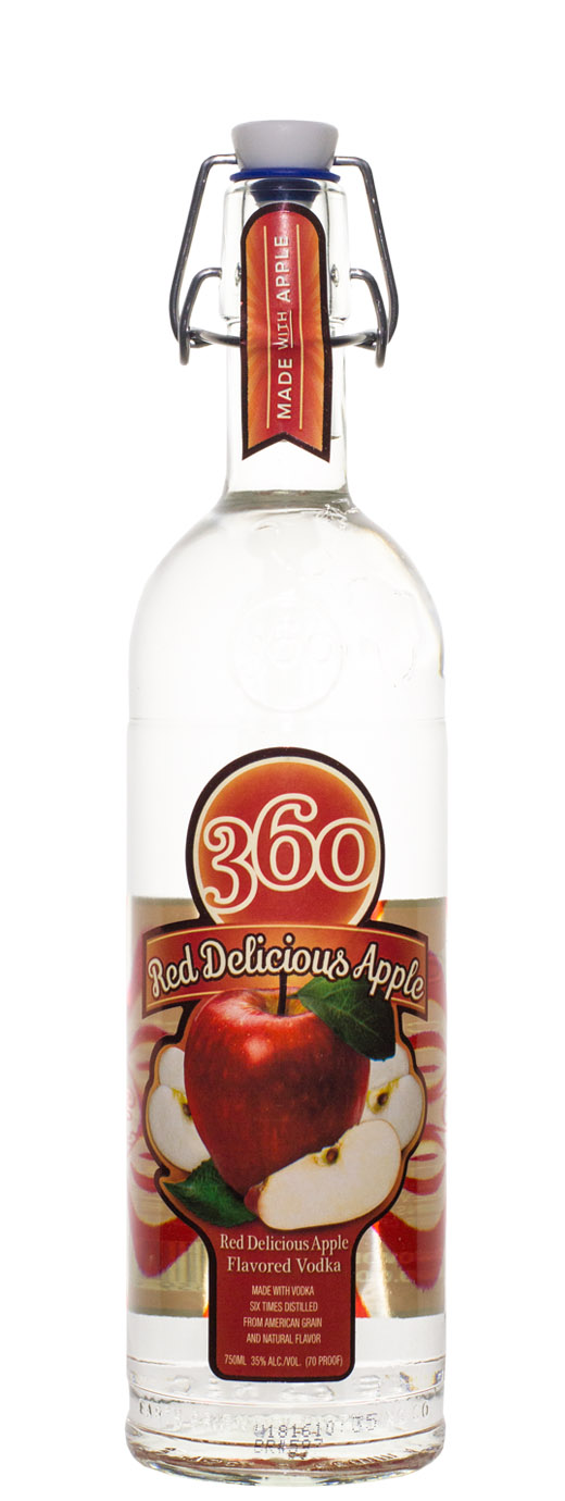Red Delicious Apple 360 Vodka