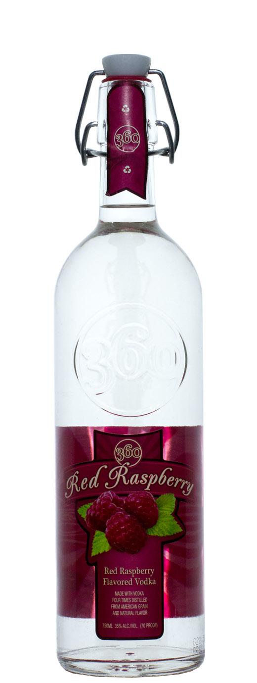 Red Raspberry 360 Vodka