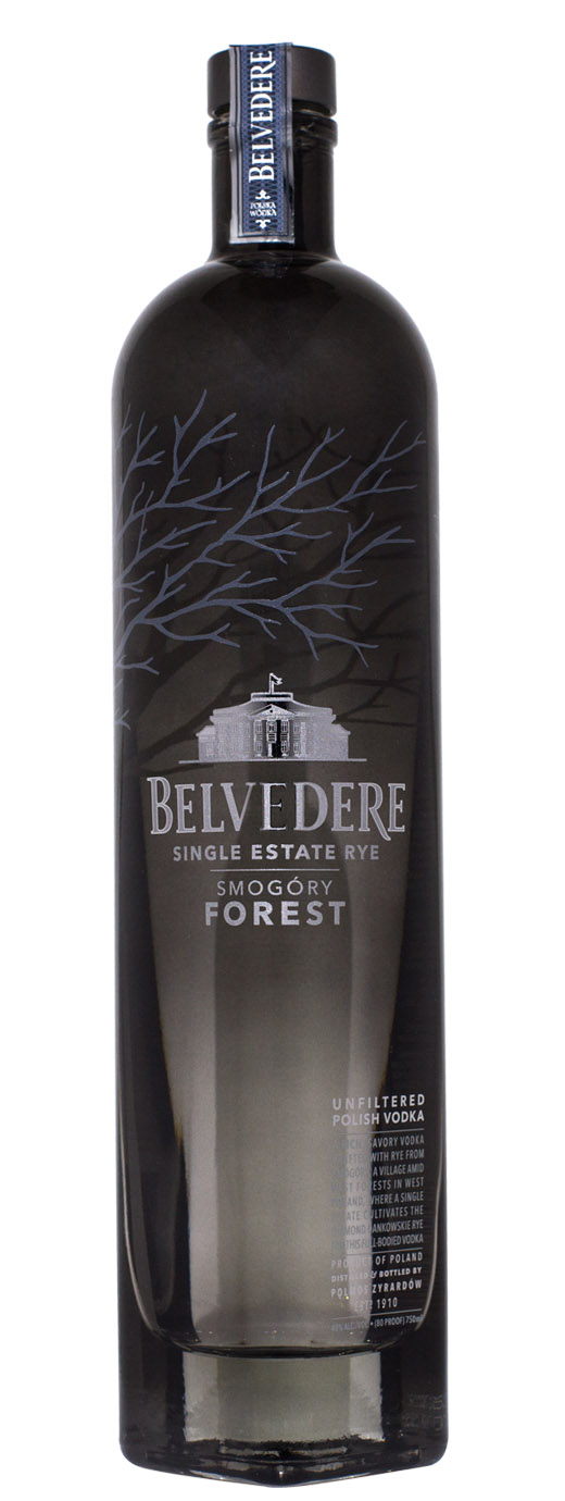 Belvedere Single Estate Rye Vodka Smogory Forest