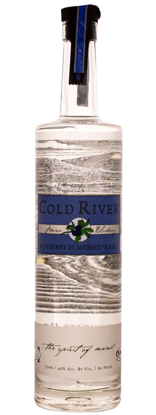 Cold River Blueberry Flavored Vodka
