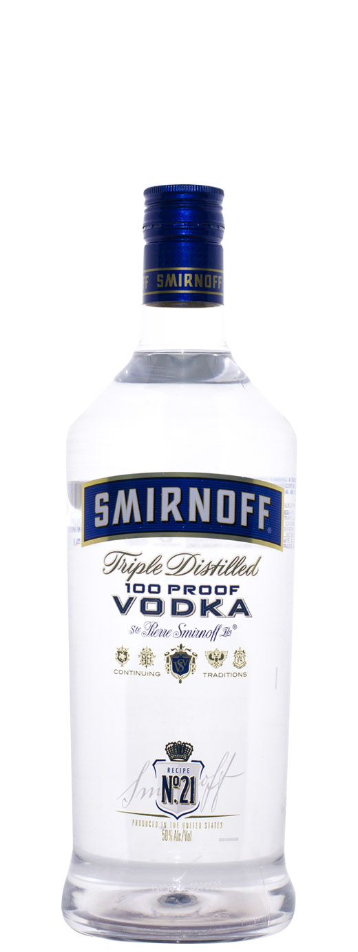 Smirnoff Blue Label 100° Export Strength Vodka