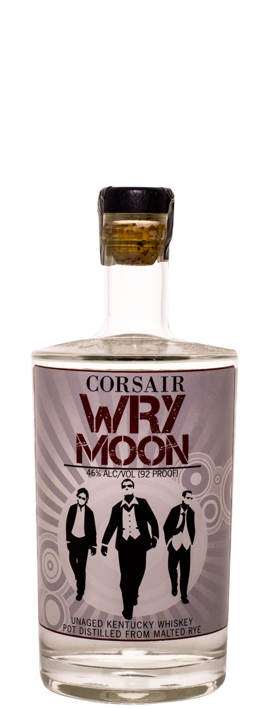 Corsair Wry Moon Unaged Rye Whiskey