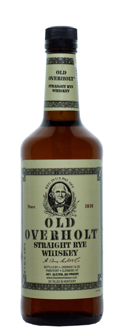 Old Overholt Straight Rye Whiskey