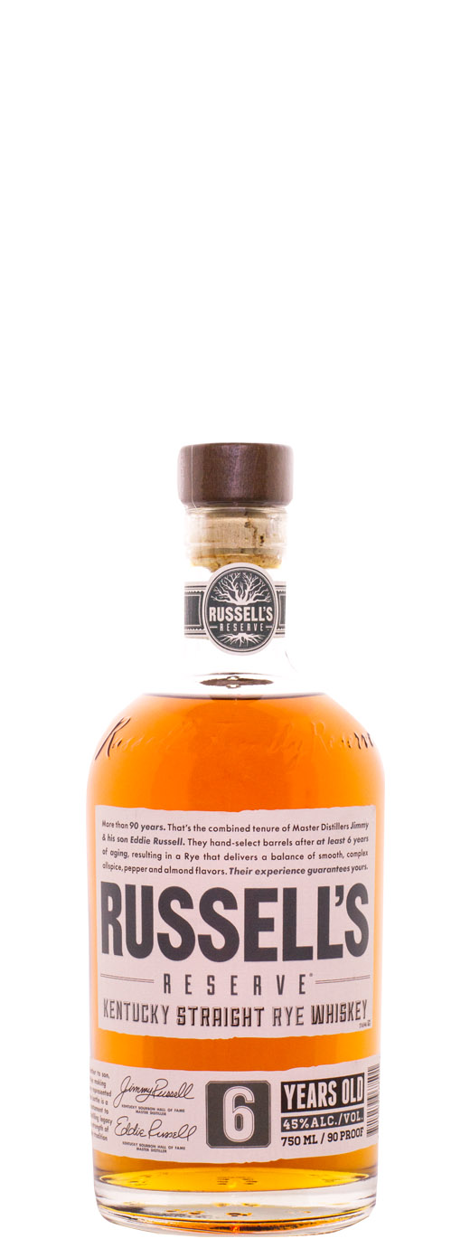 Russell's Reserve 6yr Rye