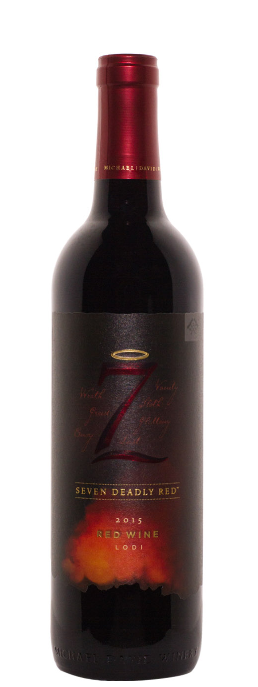 2015 Michael David Seven Deadly Red