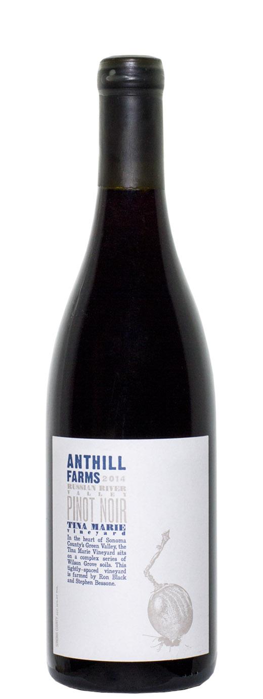 2014 Anthill Farms Pinot Noir Tina Marie Vineyard