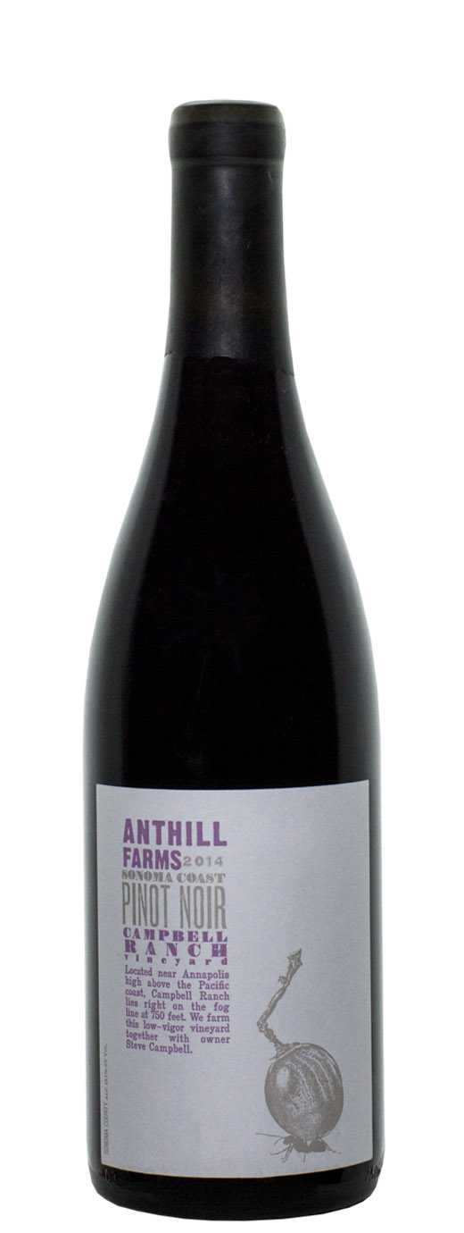 2014 Anthill Farms Pinot Noir Campbell Ranch Vineyard
