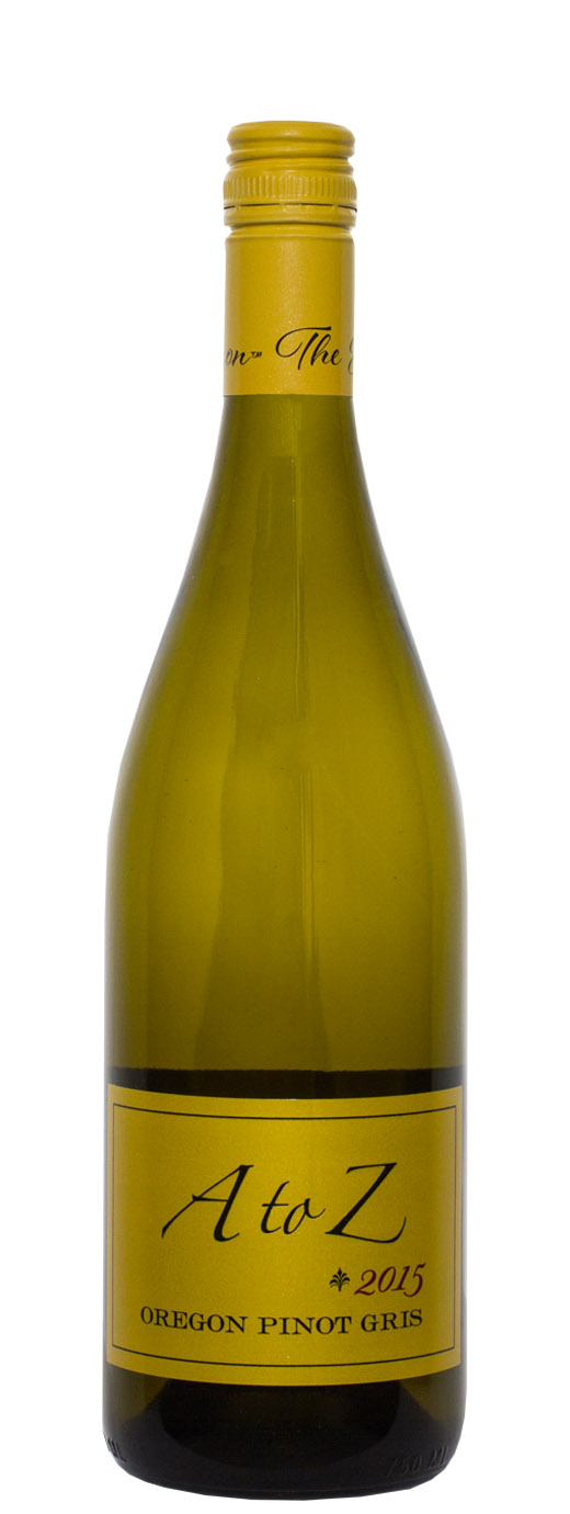 2015 A to Z Wineworks Pinot Gris