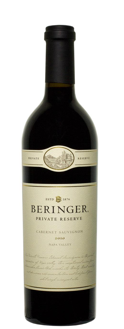 2010 Beringer Cabernet Sauvignon Private Reserve