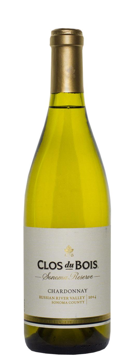 2014 Clos Du Bois Chardonnay Reserve  Buy Wine Online  B  ~ Reserve De Bois