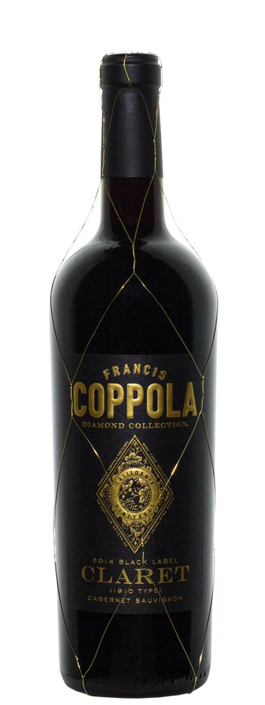 2014 Francis Coppola Claret Black Label Diamond Collection