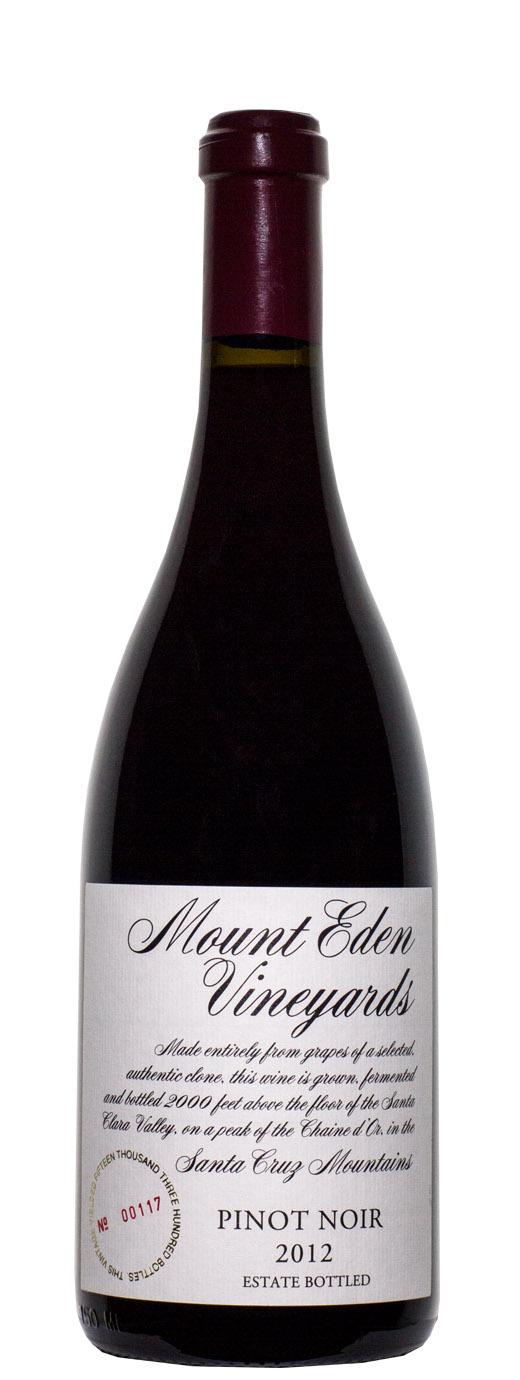 2012 Mount Eden Vineyards Pinot Noir Estate